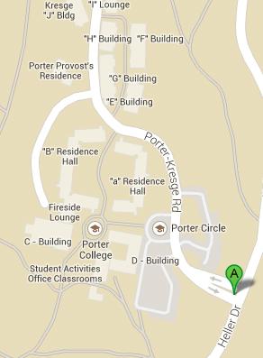 Maps And Directions - Google maps kresgie college us santa cruz
